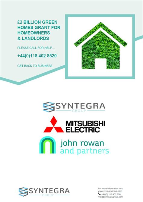 They will then help provide the energy audits and advice needed for the canada greener homes grant to work. Green Home Grant 2020 announced   Syntegra Group