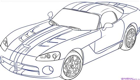 drawing cars   draw  car step  step  pictures