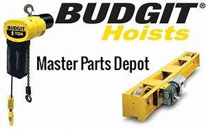 Cmco Adds Hoosier Crane As Master Parts Depot For Budgit