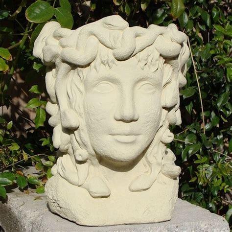 medusa head planters  flower pots arizona pottery