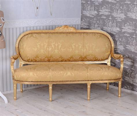 canapé style baroque canape baroque style louis xvi sofa meridienne en bois