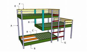 build your own bunk bed free plans Online Woodworking Plans