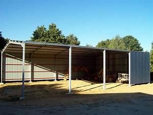 Hangar En Kit Bois : hangar galvanise kit ~ Premium-room.com Idées de Décoration