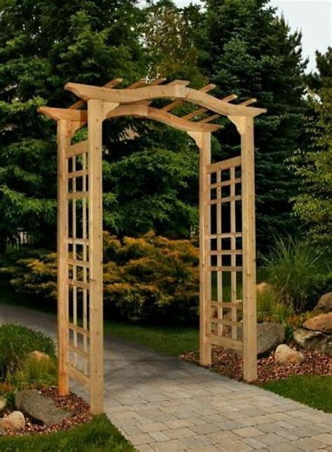 Garden Arch Costco by New Arbors Decorative Westwood Cedar Garden Patio