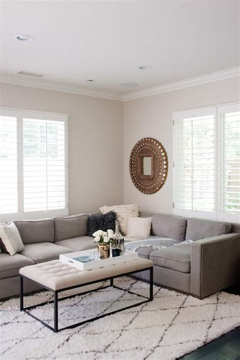 los angeles home  living room grey rugs  living room cream living rooms