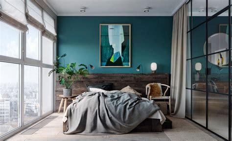 console pour chambre à coucher osez une déco couleur bleu canard dans votre intérieur