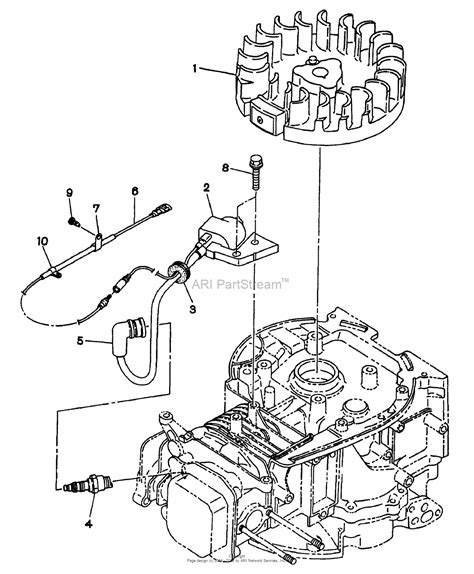 4 Engine Diagram by Snapper Wo1 180v 6 5 Hp 4 Cycle Ohv Robin Engine Parts