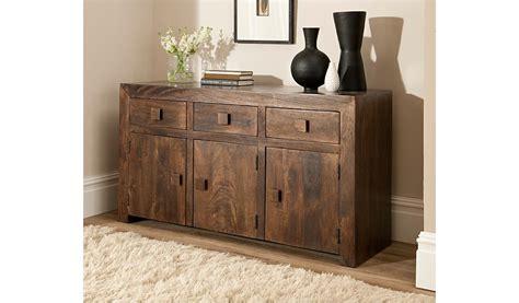 goa 3 drawer 3 door sideboard sideboards storage george at asda