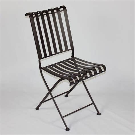metal folding chair in brown set of 2 55582