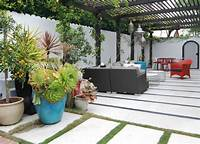 best eclectic patio design ideas Three Vibrant Color Schemes For Outdoor Spaces