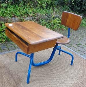 Bureau écolier Vintage : bureau d 39 colier pouvant tre attribu jean prouve ~ Nature-et-papiers.com Idées de Décoration