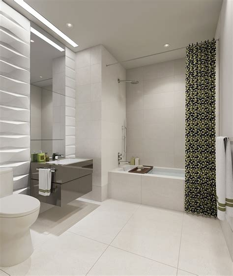 Modern White Bathroom Floor Tile by Contemporary Bathroom With Arizona Tile Pearl White