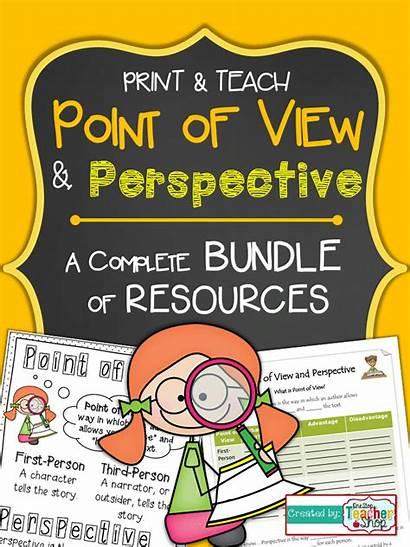 Point Perspective Activities Teaching Teach Poster Reading