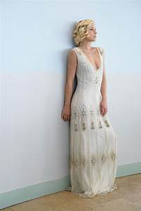 Vicky rowe a debut collection of 1920s and 1930s inspired for 1920s style wedding dress