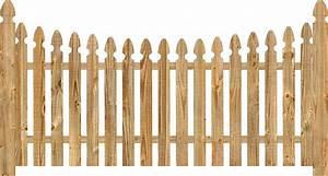 Spaced Picket Wood Fence | Dennisville Fence