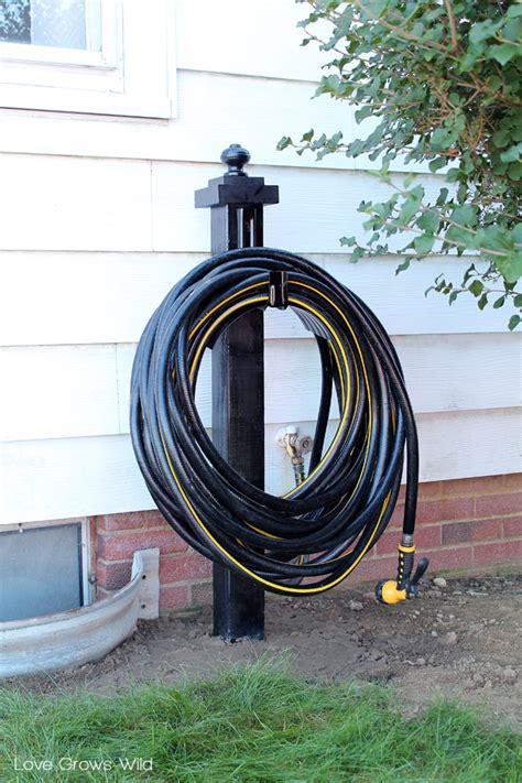 garden hose holder diy garden hose holder grows