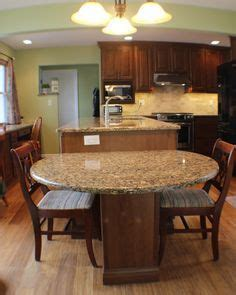 kitchen cabinets and islands from the rounded end of the island great seating area 5904