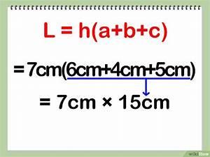 Dreiecksseiten Berechnen : die oberfl che eines dreiseitigen prismas berechnen wikihow ~ Themetempest.com Abrechnung