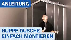 Hüppe Dusche Ersatzteile : montagevideo f r h ppe duschkabinen design elegance gleitt ren youtube ~ Frokenaadalensverden.com Haus und Dekorationen