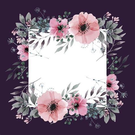 floral frame  dark background dark backgrounds