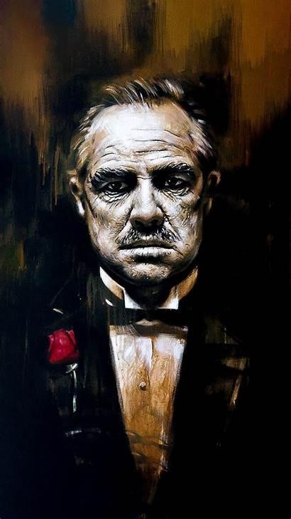 Corleone Vito Godfather Don Mafia Wallpapers Custom