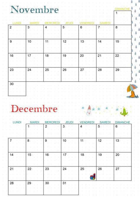 calendrier  calendrier calendrier enfant