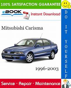 Mitsubishi Carisma Service Repair Manual 1996