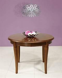 Table Ronde Ou Rectangulaire : table ronde 4 pieds diam tre 1 m tre contemporain table de lit ~ Melissatoandfro.com Idées de Décoration