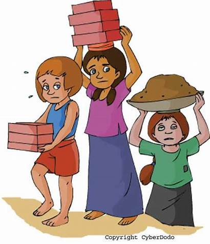 Labor Child Maggid Haggadah Clip Passover Beginning