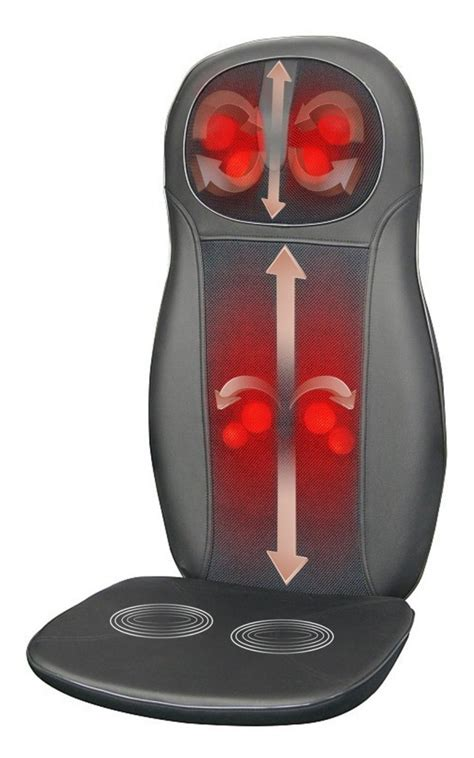 chair back massager with heat for chair pads on
