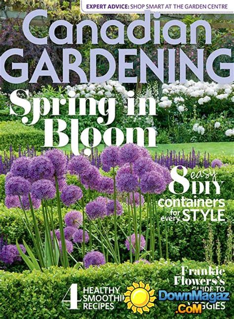 canadian gardening spring    magazines