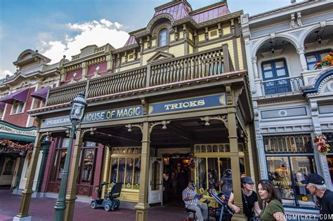 House Of Magic Facade Returns To Main Street Usa