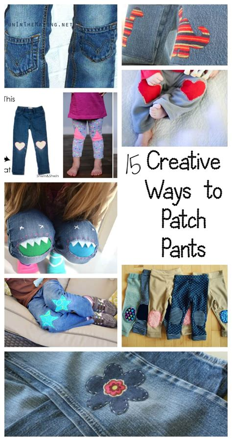 15 Creative Ways To Patch Pants  Life Sew Savory