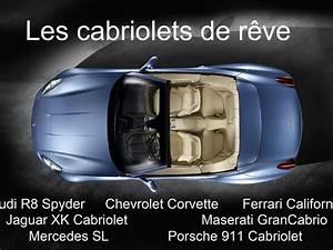 Porsche 4 Places : comparatif cabriolets de r ve audi r8 spyder chevrolet corvette ferrari california jaguar ~ Medecine-chirurgie-esthetiques.com Avis de Voitures