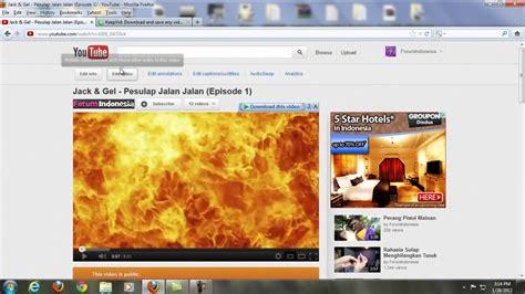 bagaimana   video youtube  menggunakan software youtube