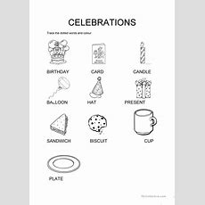 Happy Birthday Vocabulary Worksheet  Free Esl Printable Worksheets Made By Teachers