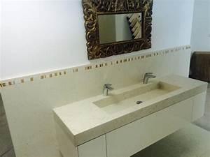 Vasque Salle De Bain En Pierre : plan de vasque salles de bain par min ral soci t pierres naturelles en lorraine ~ Teatrodelosmanantiales.com Idées de Décoration