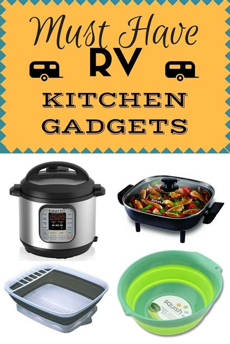 rv gadgets kitchen cooking camping must living trailer hacks space haves gear diy stuff supplies equipment read