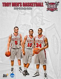 Troy Men's Basketball Media Guide 2012-13 by Troy ...