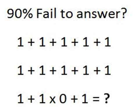 90% Fail To Answer This Correctly