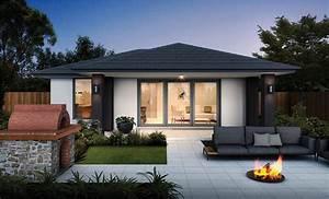 Granny, Flat, 60m2, 1, Bedroom, Home, Design, Nsw