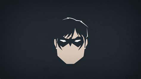Animated Superheroes Hd Wallpapers - dc comics heroes nightwing blo0p minimalism