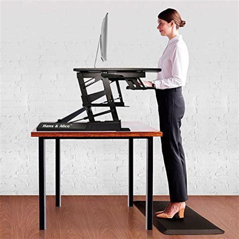 stand up desk riser hans alice 36 39 39 height adjustable stand up desk standing