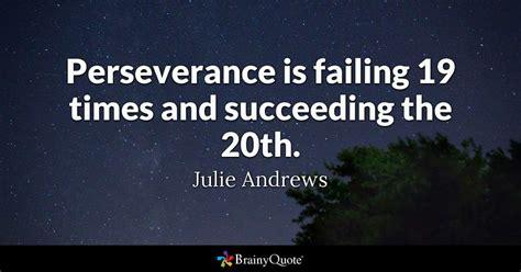 perseverance  failing  times  succeeding