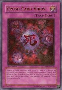 yu gi oh dpkb en039 crush card virus ultimate rare