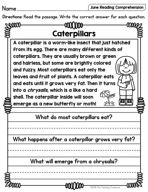 awesome reading comprehension st grade doctorbedancing
