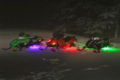 led lights for snowmobile neon lights for snowmobiles snowmoblog
