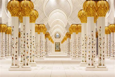 Sheikh Zayed Grand Mosque Photos Interior Chandelier