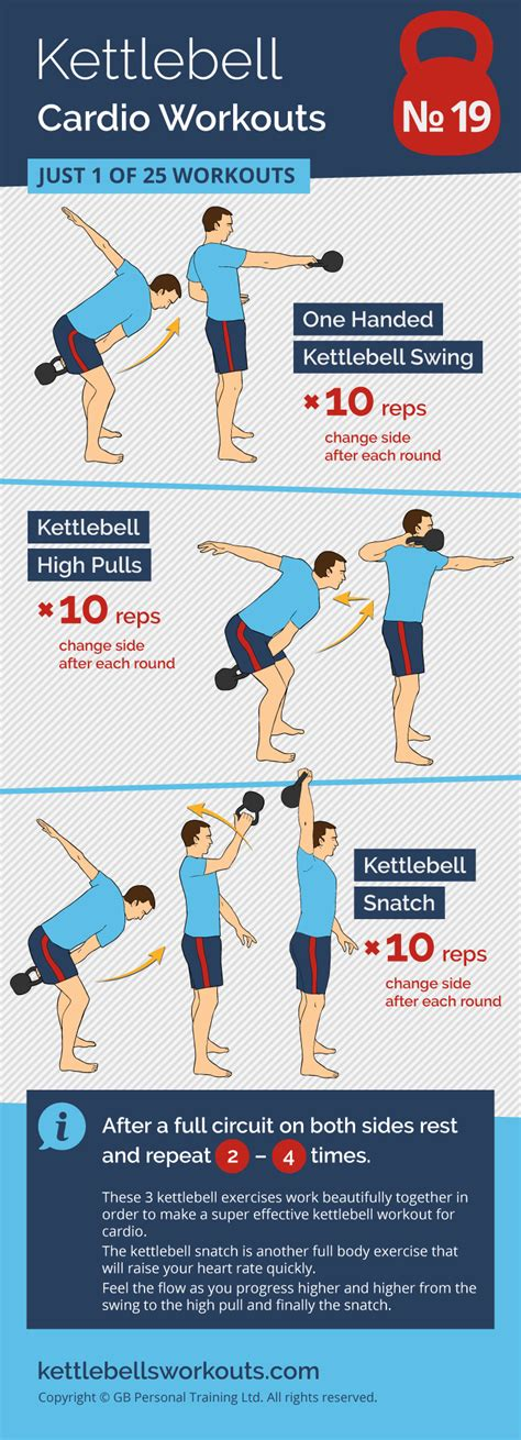kettlebell cardio workouts training workout kettlebellsworkouts snatch conditioning flow swings combination