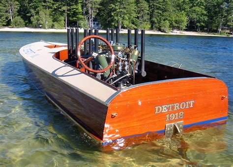 Wooden Jet Boat by Now Best Wood Boat Builders Vhull